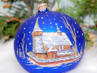 Christmas decorations glass ornaments hand made shapes producer ...
